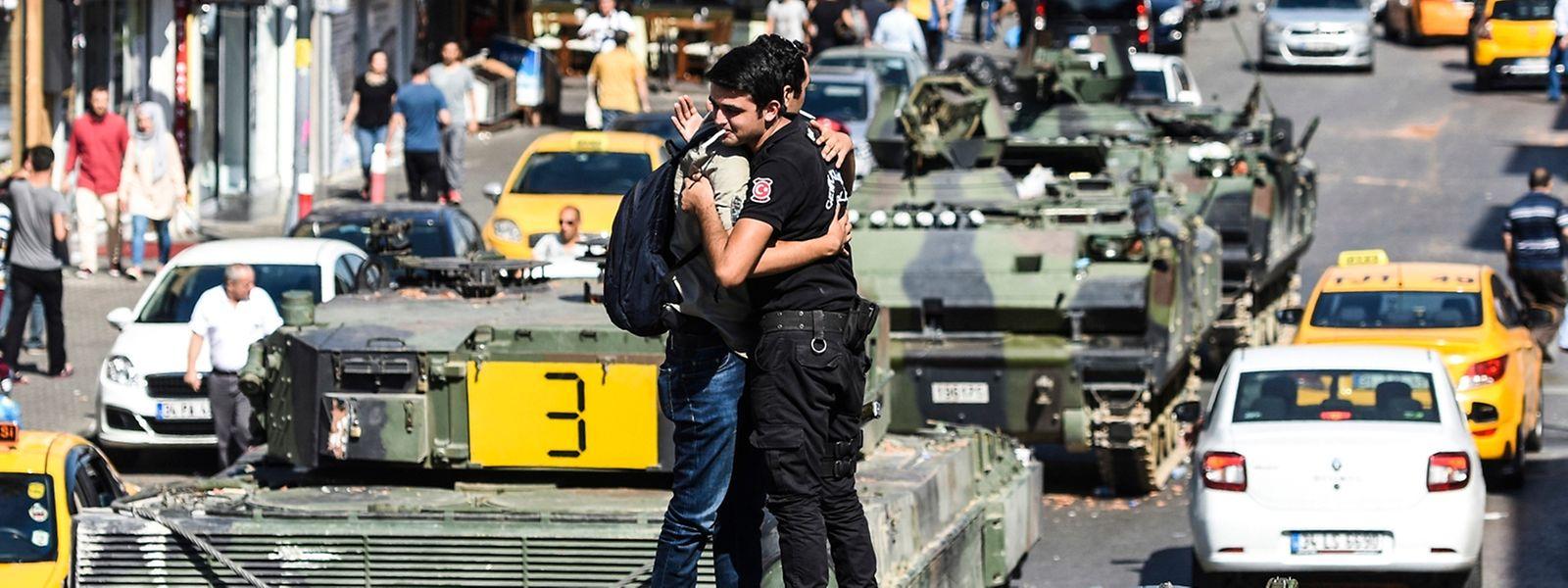 Die Regierung hat die Lage in Istanbul offenbar wieder im Griff.