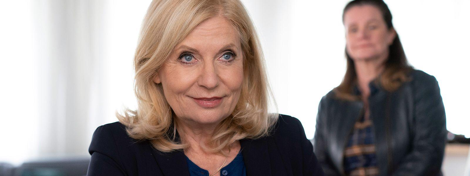 """Sabine Postel verkörpert in der Serie """"Die Kanzlei"""" die erfahrene Rechtsanwältin Isa von Brede – und das seit nunmehr 13 Jahren."""