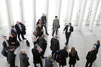 Bayrische Abgeordnete besuchen Philharmonie, le 22 Novembre 2017. Photo: Chris Karaba
