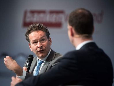 The Netherlands' Finance Minister and president of the Eurogroup Jeroen Dijsselbloem