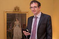 30.1. Ambassade Great Britain / ITv Ambassadeur John Marshall / England Foto:Guy Jallay