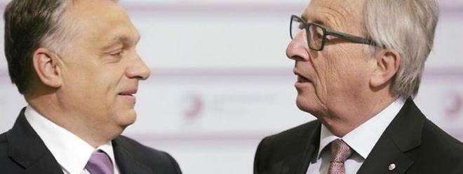 Jean-Claude Juncker richtet klare Worte an Ungarns Ministerpräsident Orban.