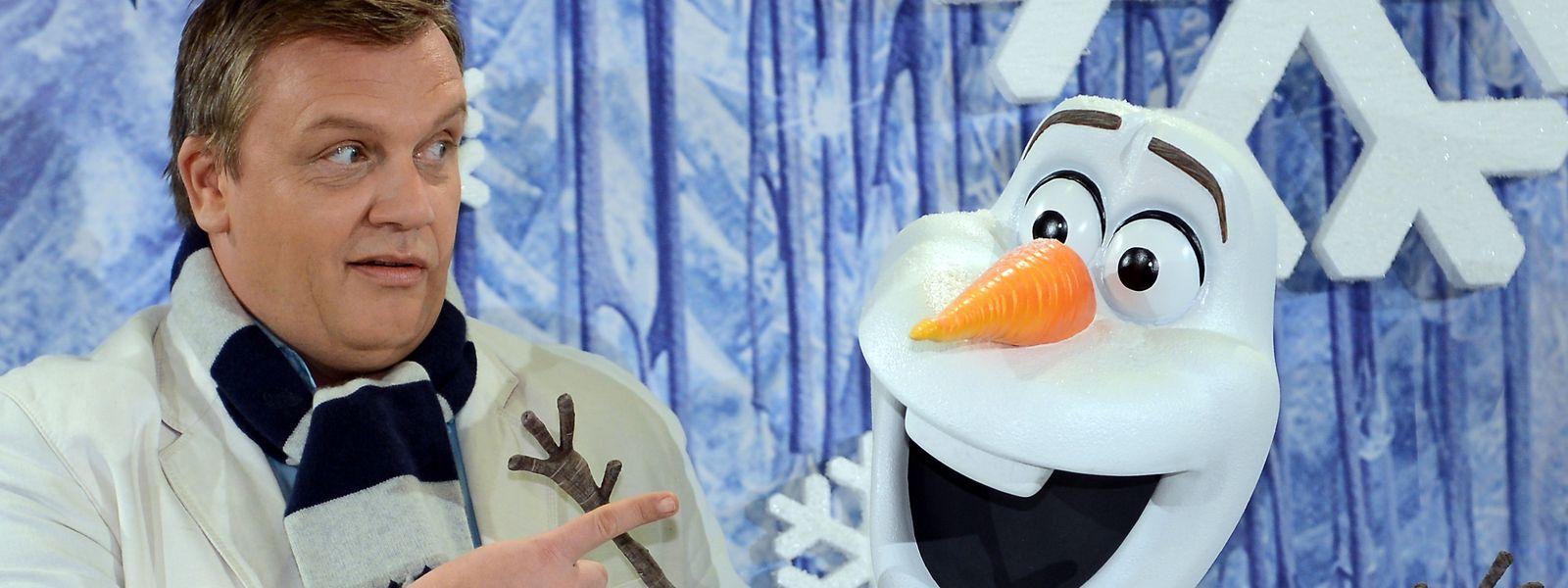 """Hape Kerkeling synchronisierte auch in der Fortsetzung des Disney-Films """"Frozen"""" den witzigen Schneemann Olaf – zumindest in der deutschen Fassung."""