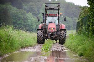 Landwirtschaft im Regen - Photo : Pierre Matgé