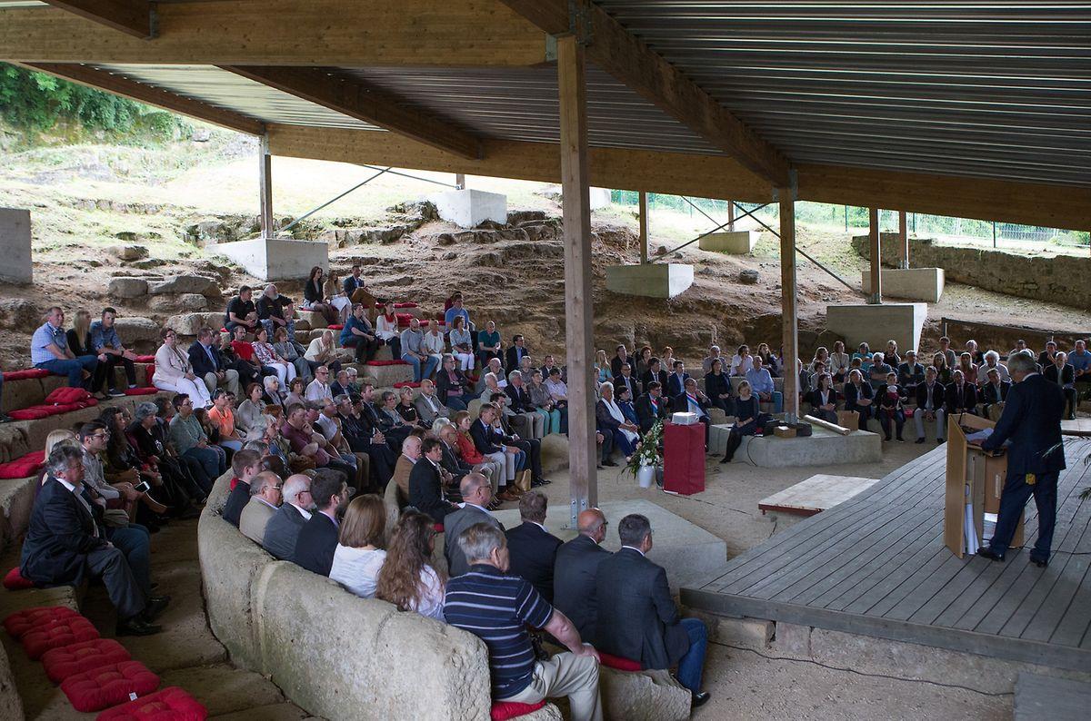 Zahlreiche Ehrengäste wohnten der Einweihungsfeier am Freitagnachmittag bei.