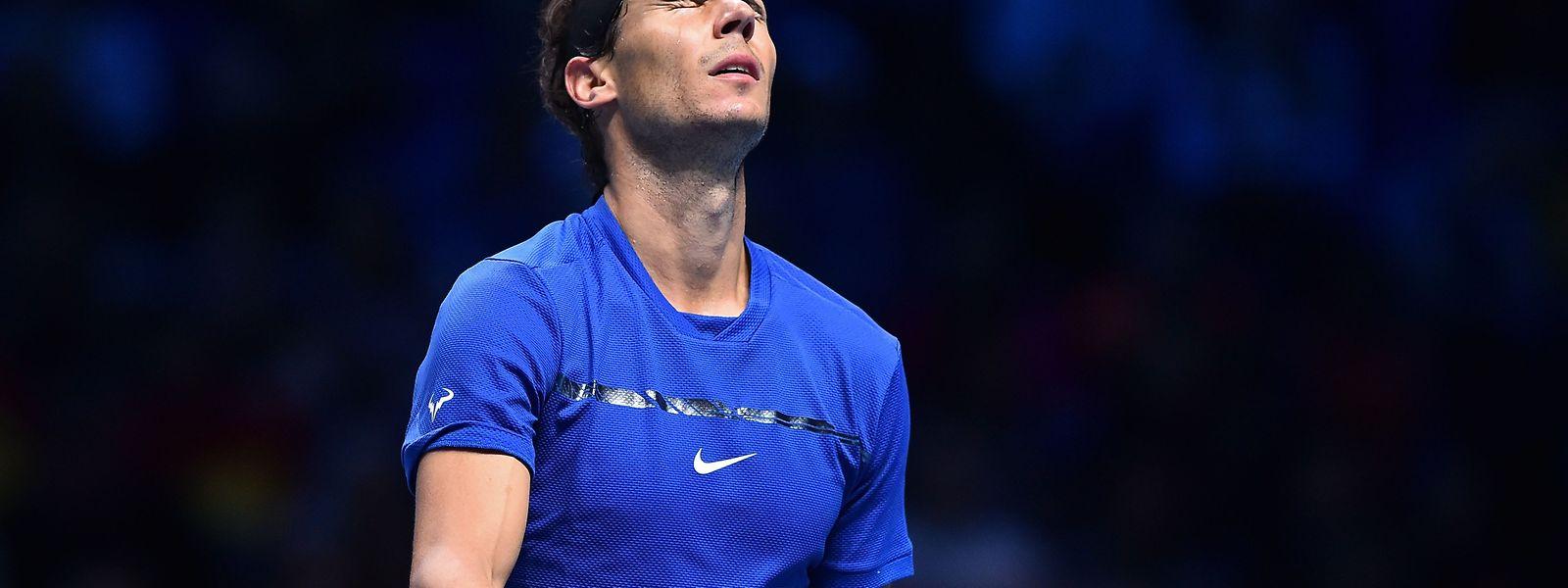 Für Rafael Nadal endet ein grandioses Tennisjahr mit einem Rückschlag.