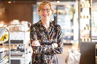 """Christiane Wickler a fondé et fait grandir """"Pall center"""", qui mise sur la grande distribution branchée et durable."""