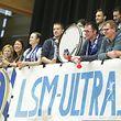 Die Fans aus München machten mächtig Stimmung.