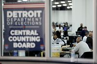 Contagem de votos no Michigan