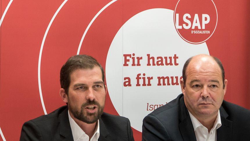 Yves Cruchten (left) and Claude Haagen.
