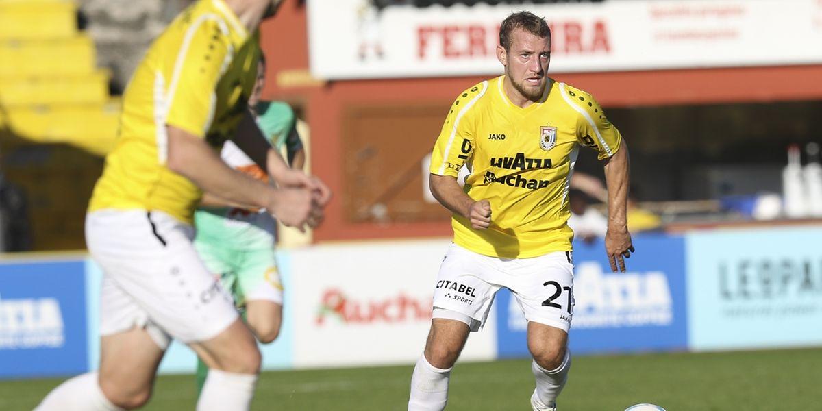 Dominik Stolz a inscrit le but dudelangeois en fin de première période.