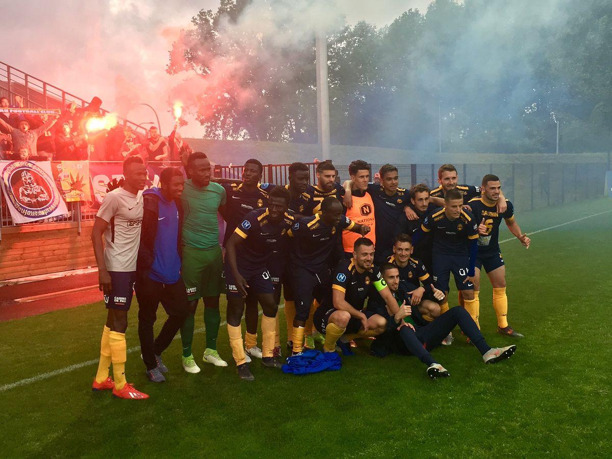 La saison est désormais terminée pour le Pau FC de Vincent Thill