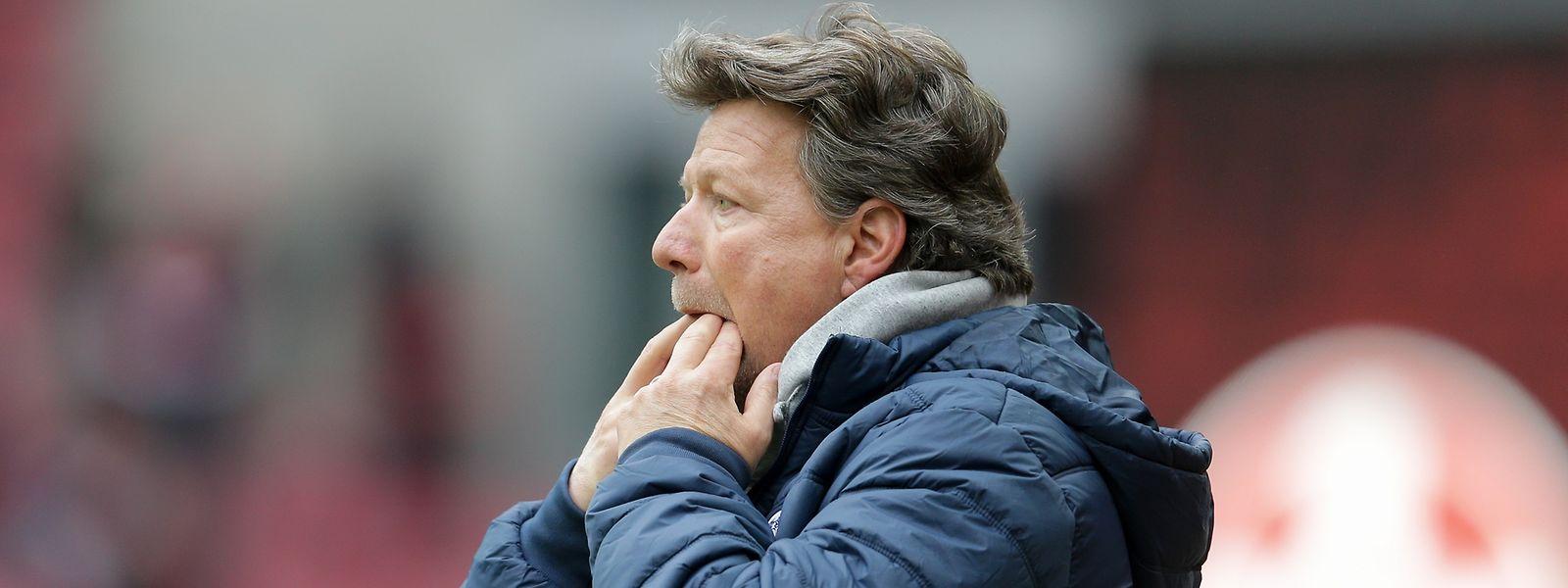 Jeff Saibene und die Bielefelder wollen am Sonntag im Spitzenspiel drei Punkte holen.