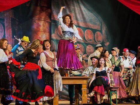 Carmen an 100 Minutten, Opéra du Trottoir, déc 2016 / Foto: Val Wagner