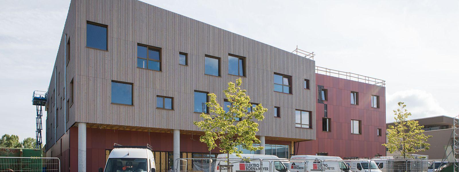 Die neue Schule Lenkeschléi im gleichnamigen Düdelinger Stadtteil schafft Raum für neue Arbeitsformen. Konzipiert wurde das Gebäude vom Architektenbüro Decker, Lammar et associés.