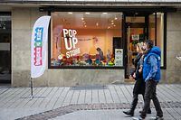 Lokales,Pop-Up-Stores in der Hauptstadt -  Bricks4Kidz (38, rue Philippe II) . Foto: Gerry Huberty/Luxemburger Wort