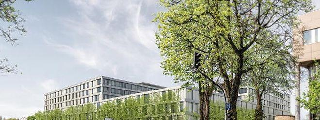 So soll das neue CHL-Hauptgebäude aussehen. Baubeginn ist Ende 2018.