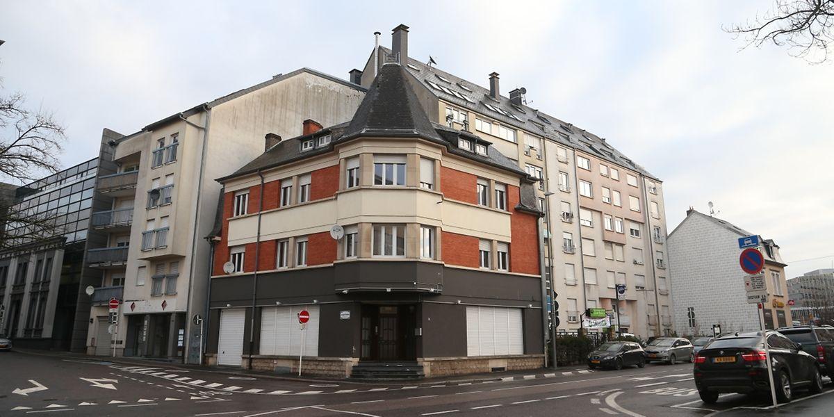 Dans cette maison à l'angle de la rue de Hollerich, la Stëmm vun der Strooss aura de nouveaux locaux pour l'accueil de ses bénéficiaires.