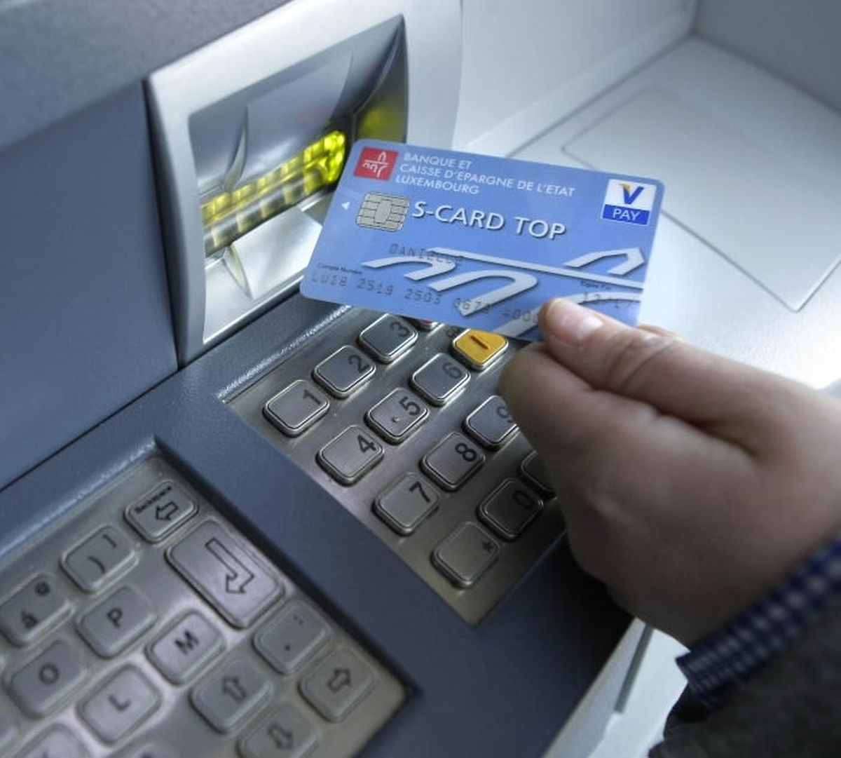 The V-Pay card system (Gerry Huberty)