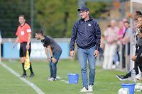 Sven Loscheider (Trainer Ruemlingen)/ Fussball BGL Ligue Luxemburg, 6. Spieltag, Saison 2018-2019 / 16.09.2018 /US Rümelingen - RM Hamm Benfica / Stade Municipal, Rümelingen /Foto: Ben Majerus