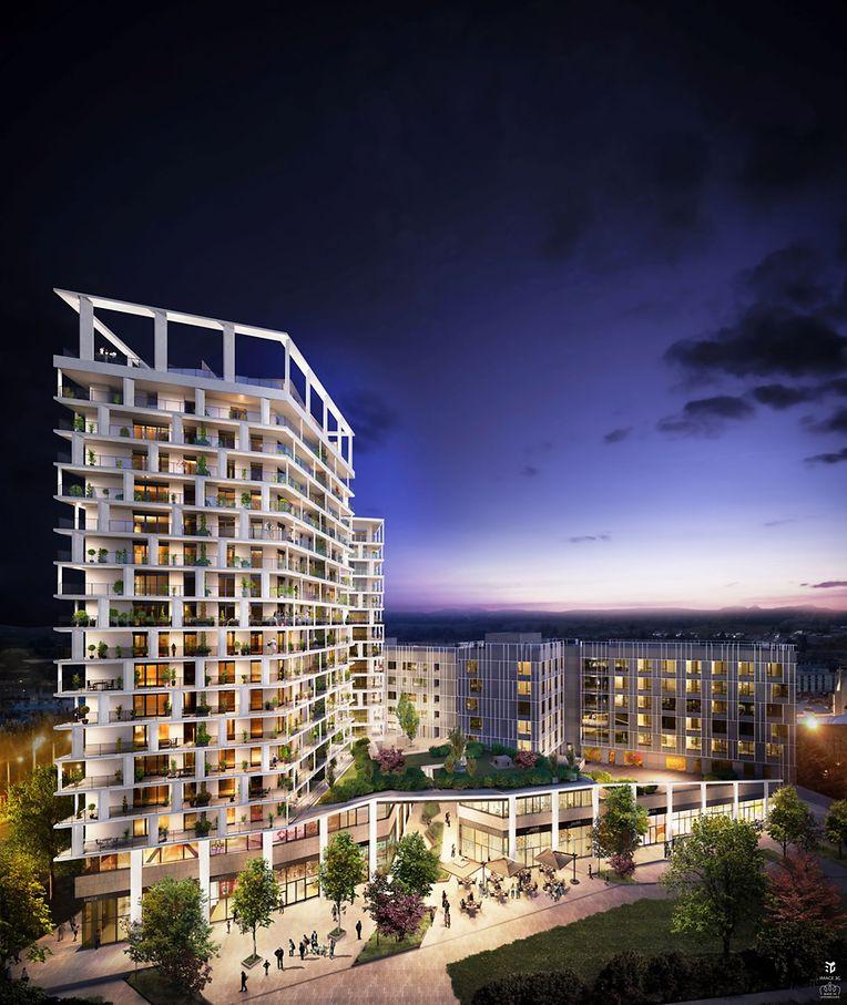 Die Pläne der Gebäude stammen vom Architektenbüro Petitdidierprioux et Moreno.