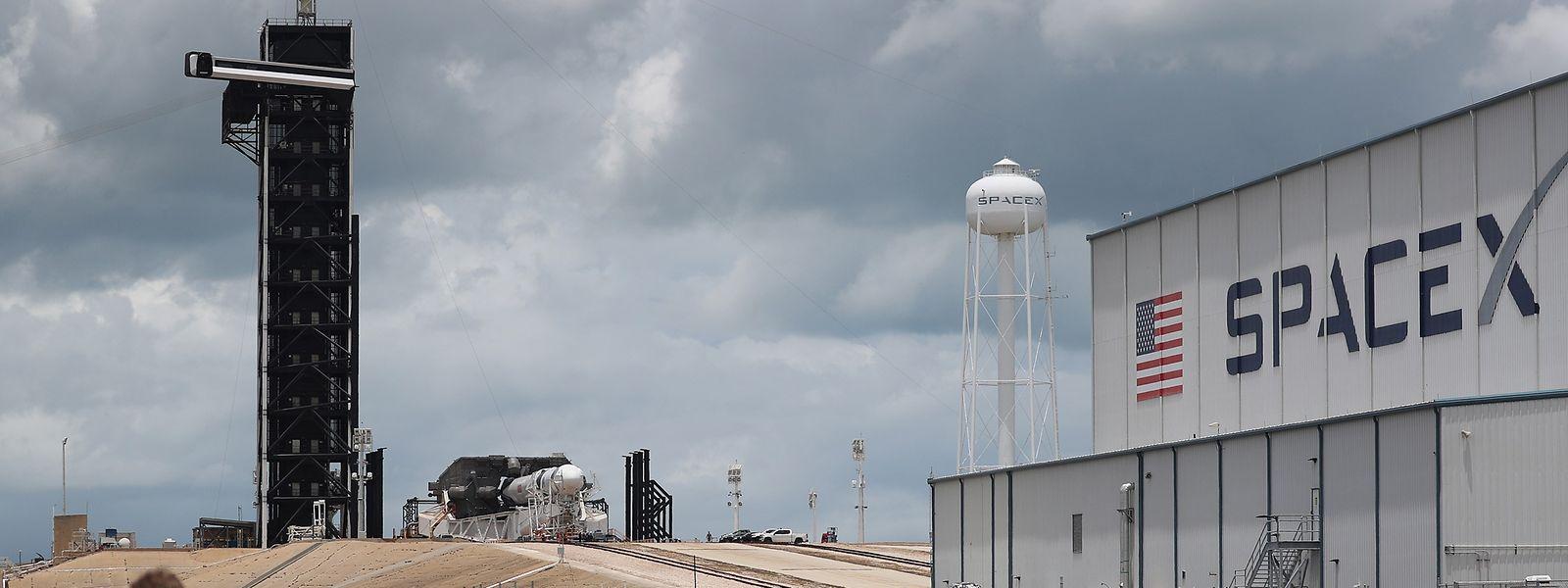 Cape Canaveral, Florida: Von hier aus startet die SpaceX Falcon 9 am Mittwochabend.