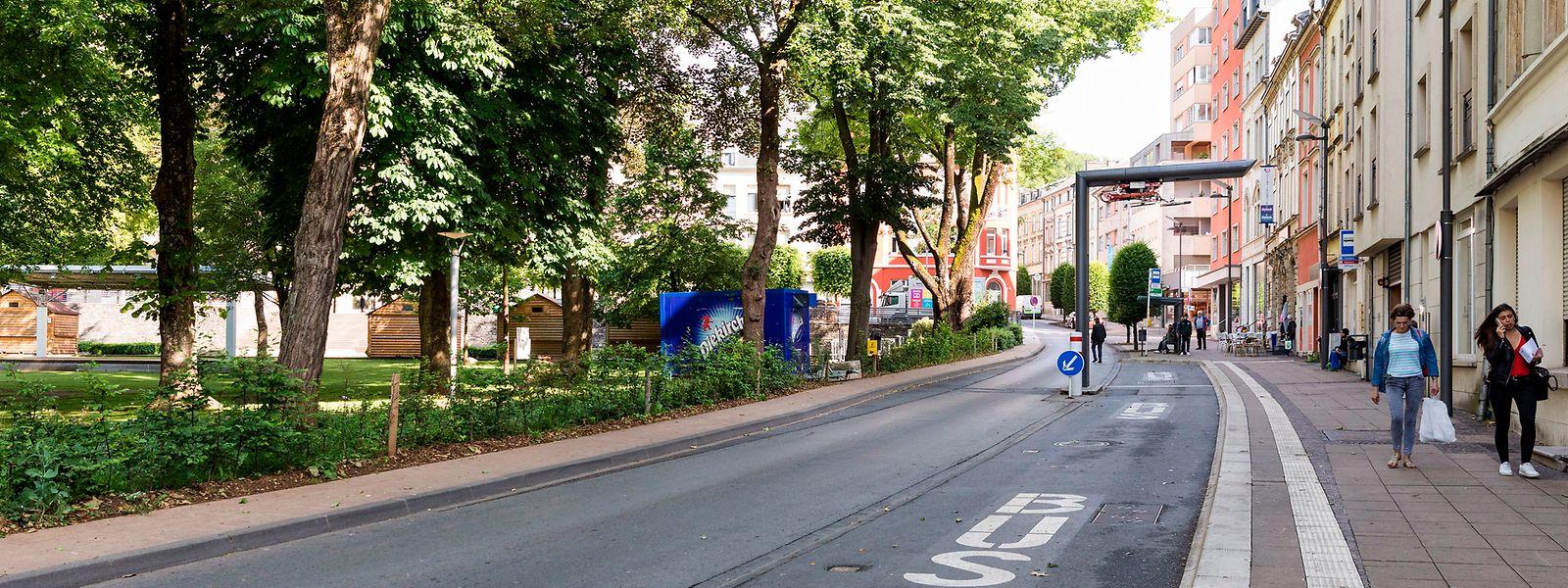 In den kommenden Wochen sollen zwei Kameras in der Rue Michel Rodange, neben dem Park Gerlache, installiert werden.