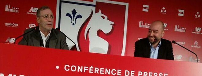 Michel Seydoux et Gerard Lopez