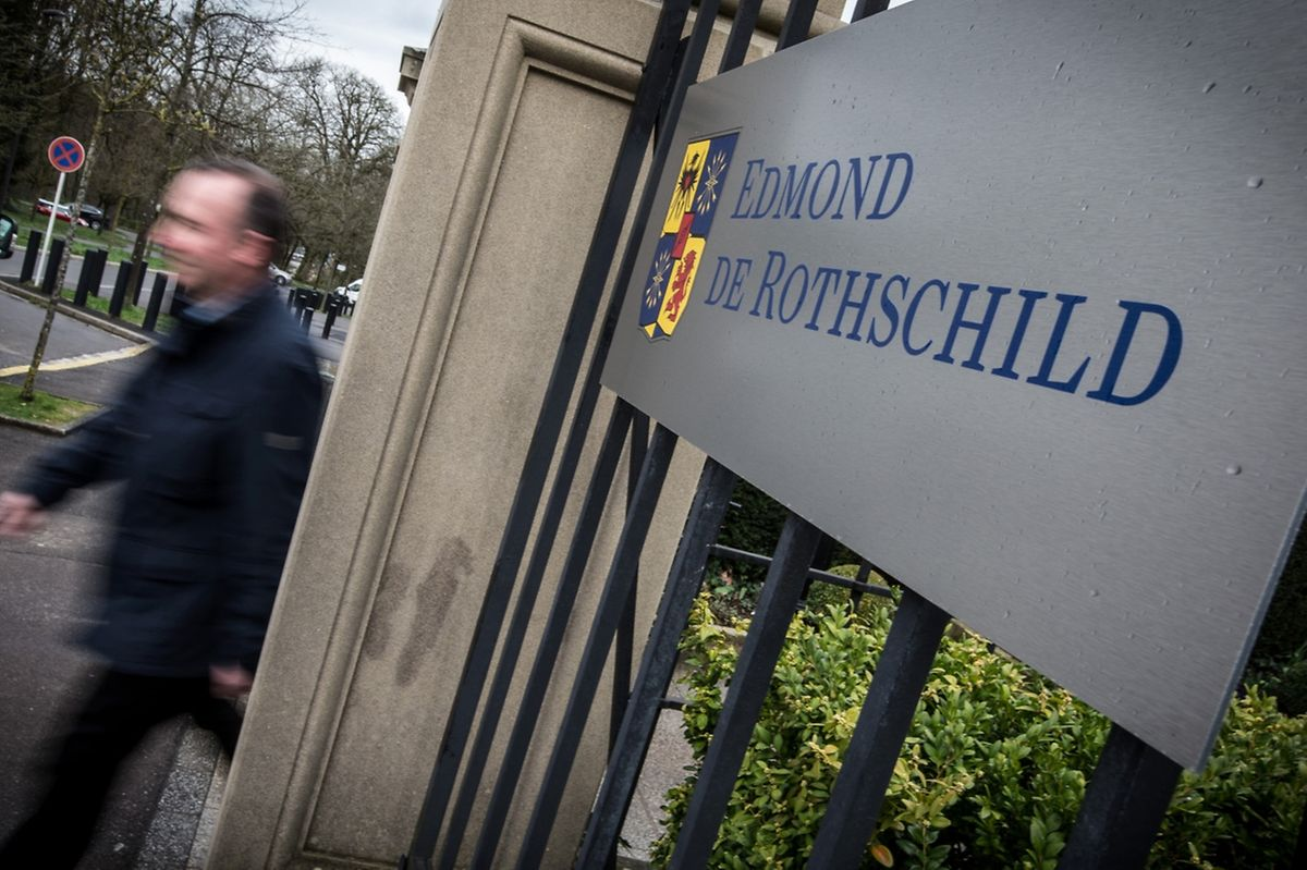 Die Banque privée Edmond de Rothschild in Luxemburg.