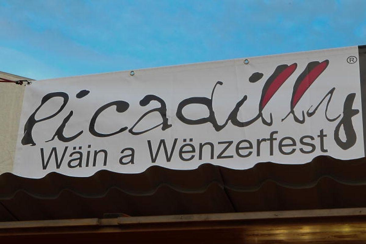 """Gleich zwei Jubiläen werden gefeiert: das 60-jährige Bestehen des Weinfestes und das 45-jährige Bestehen des """"Picadilly""""."""