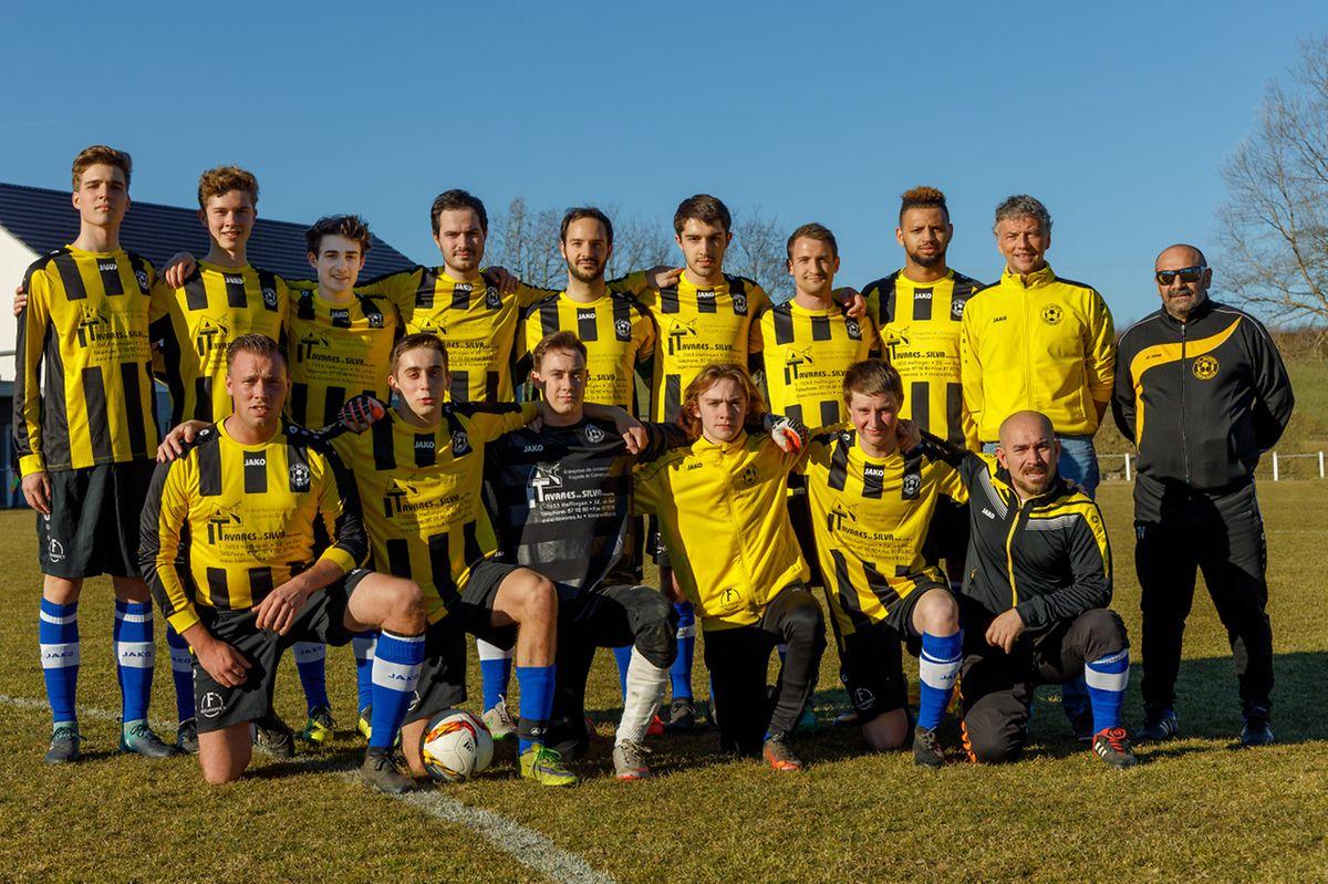L'équipe de l'Olympia Christnach-Waldbillig