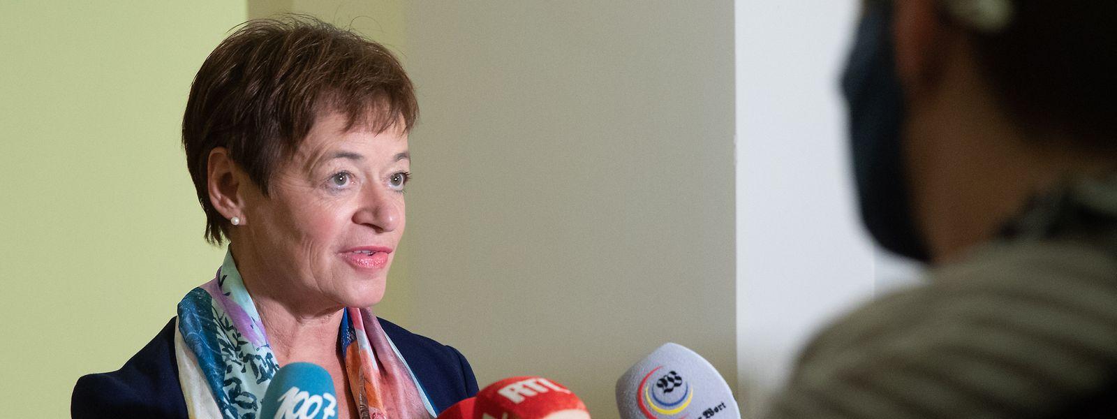 «Le Premier ministre a abordé beaucoup de sujets, en apportant les bonnes réponses», estime Josée Lorsché (Déi Gréng).