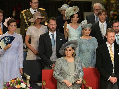 La famille grand-ducale