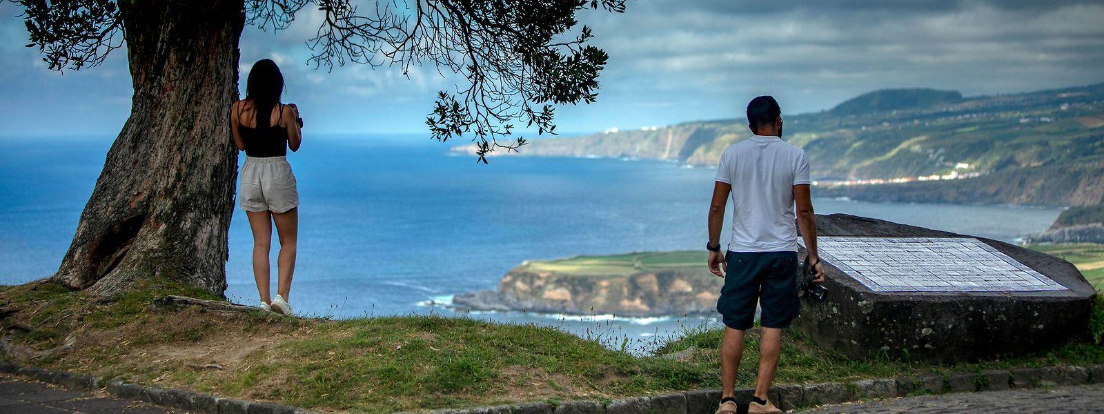 Santa Iria, na ilha de São Miguel, nos Açores.