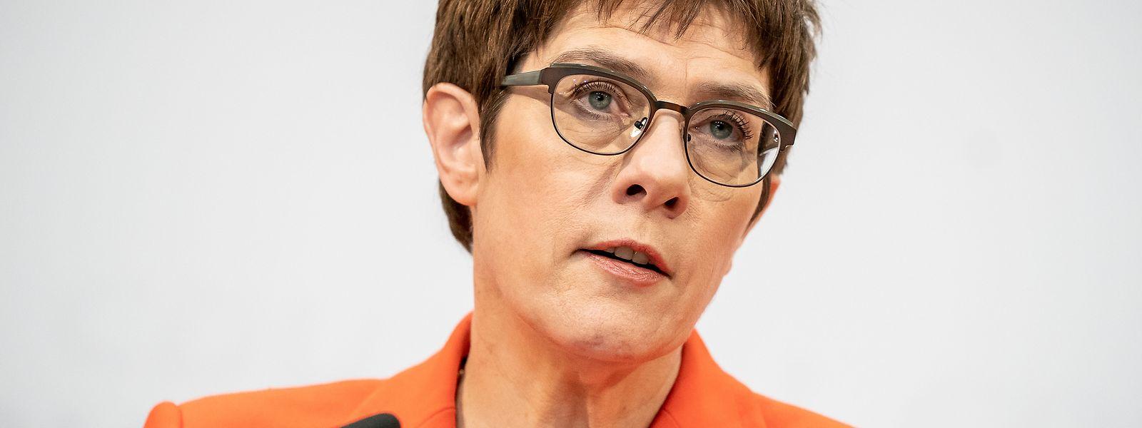 Annegret Kramp-Karrenbauer (CDU) wechselte im Frühjahr 2018 aus dem Saarland nach Berlin.