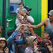 Ungarn hatte sich bislang geweigert, Flüchtlinge ins Land zu lassen.