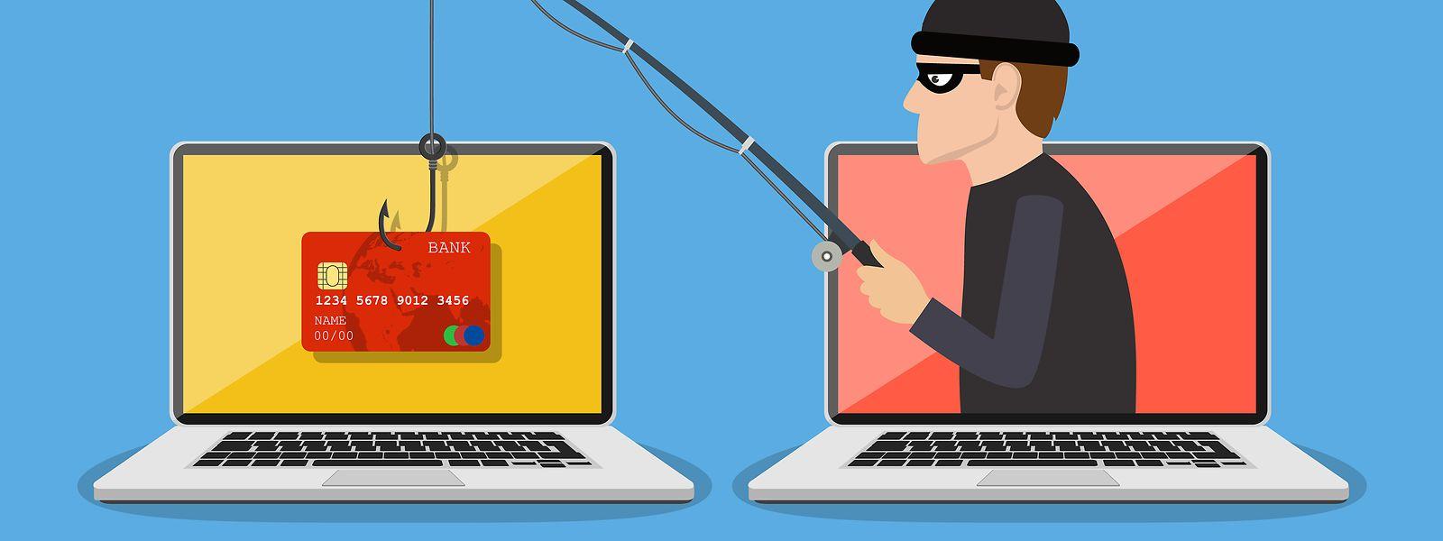Mit Phishing-Attacken versuchen Unehrliche an persönliche Daten ihrer Opfer zu kommen.