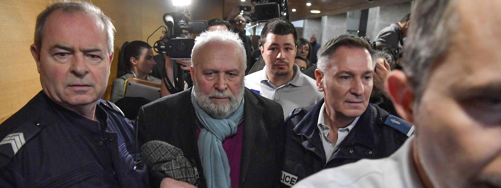 Bernard Preynat muss sich vor dem Strafgericht Lyon seit Dienstag wegen Pädophilie verantworten.