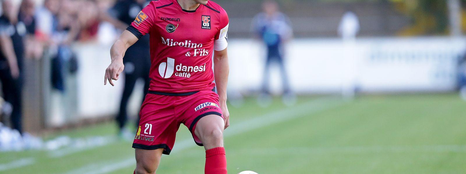 """Differdingens Mathias Jänisch: """"Wir sind alle heiß auf das Spiel gegen Niederkorn."""""""