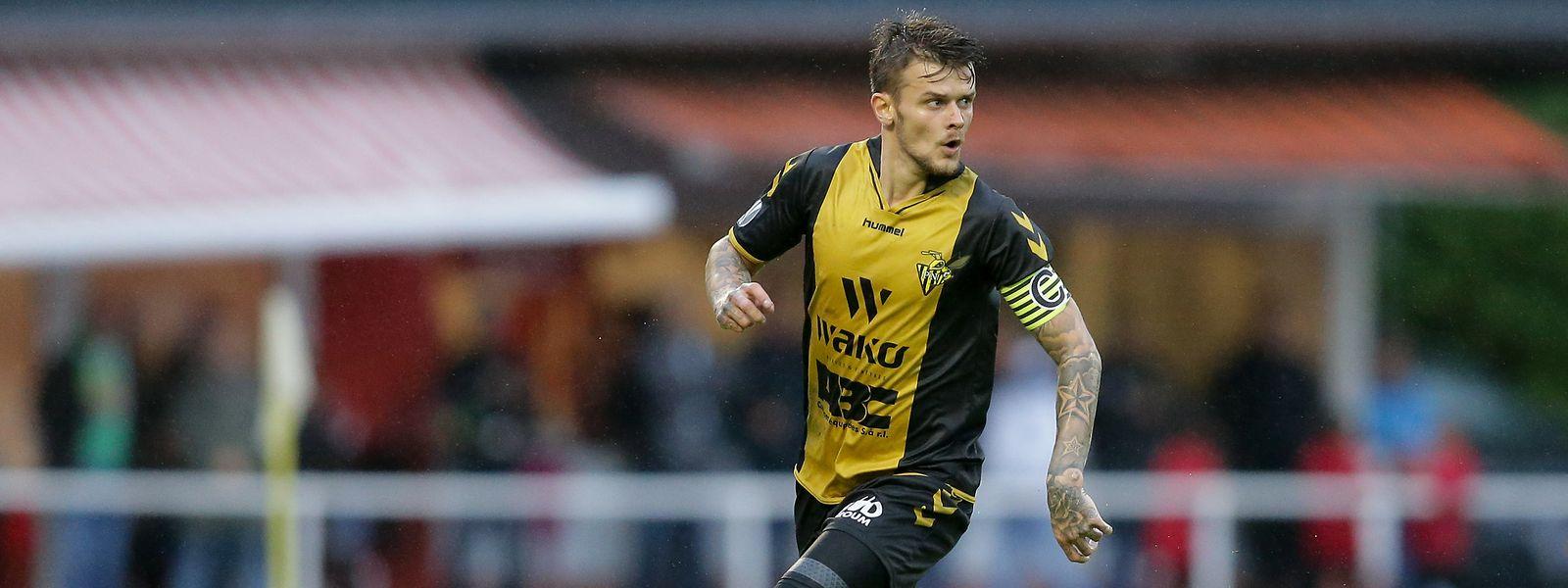 Sébastien Thill will mit Niederkorn gegen Differdingen gewinnen.