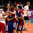 Die Volleyballer feierten zum Auftakt einen wichtigen Sieg.
