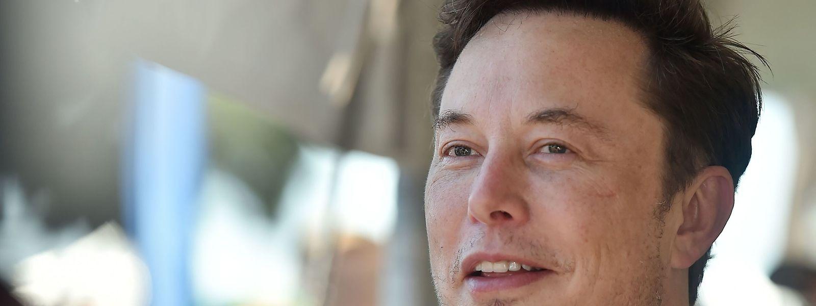 La firme, fondée par le fantasque milliardaire Elon Musk (photo) ravitaille notamment la Station spatiale internationale pour le compte de la Nasa.