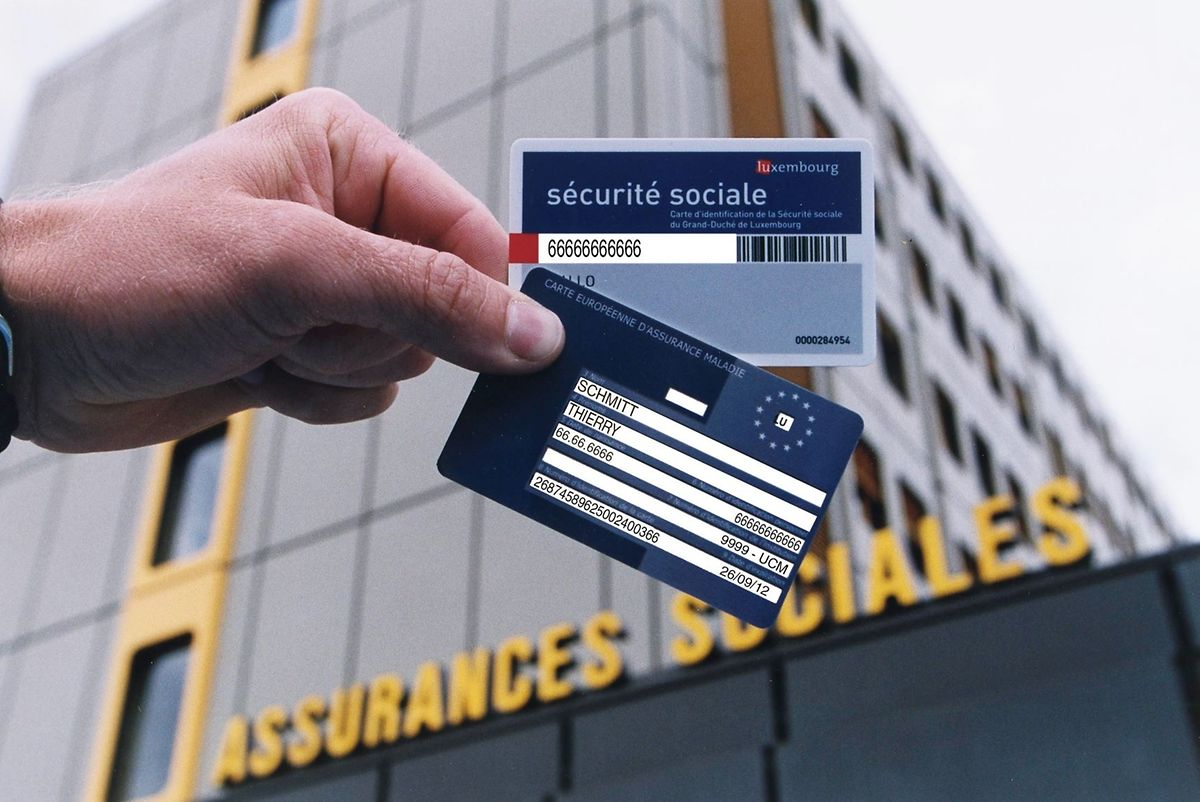 If you contribute social security payments (CCSS) in Luxembourg you are entitled to a European Health Insurance Card. Photo: Guy Wolff