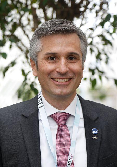 Mathias Link ist der Interimsdirektor des ESRIC.