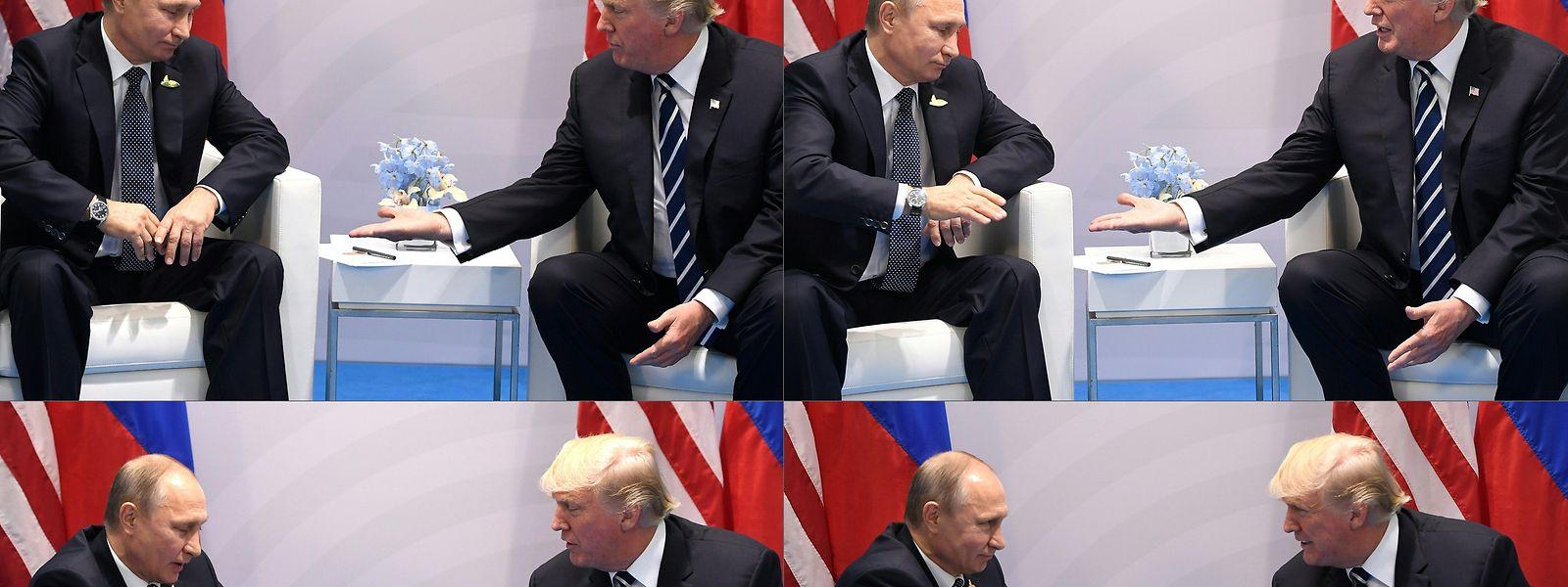 Der Handschlag des Jahres.