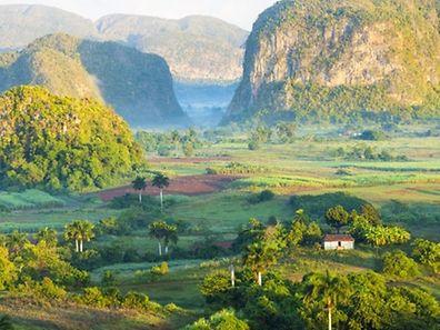 Valle De Vinales in Cuba.