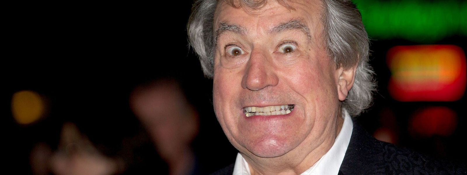 """Terry Jones im Jahr 2012 bei der Filmpremiere von """"A Liar's Autobiography"""" in London."""