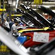 (FILES) This file photo taken on October 27, 2017 shows the all-new 2018 Ford Expedition SUV as it goes through the assembly line at the Ford Kentucky Truck Plant in Louisville, Kentucky. F Ford posted a surprise increase in December auto sales, while General Motors and Fiat Chrysler saw declines, the companies reported on January 3, 2018. The results -- better than anticipated for Ford and GM and about as expectated for FCA -- caps a year in which US auto sales declined from 2016 records but were still expected above 17 million, a solid level.Ford sold 242,049 vehicles last month, up 0.9 percent from December 2016, as the number two US automaker credited continued strength in the F-Series pickups and other large vehicles, which increasingly are the backbone of the US car industry. / AFP PHOTO / GETTY IMAGES NORTH AMERICA / BILL PUGLIANO