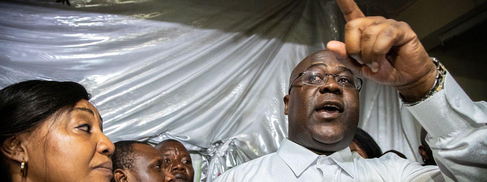 Der 55-jährige Tshisekedi ist der Sohn des früheren Ministerpräsidenten und langjährigen kongolesischen Oppositionsführers Felix Tshisekedi, der 2017 starb.