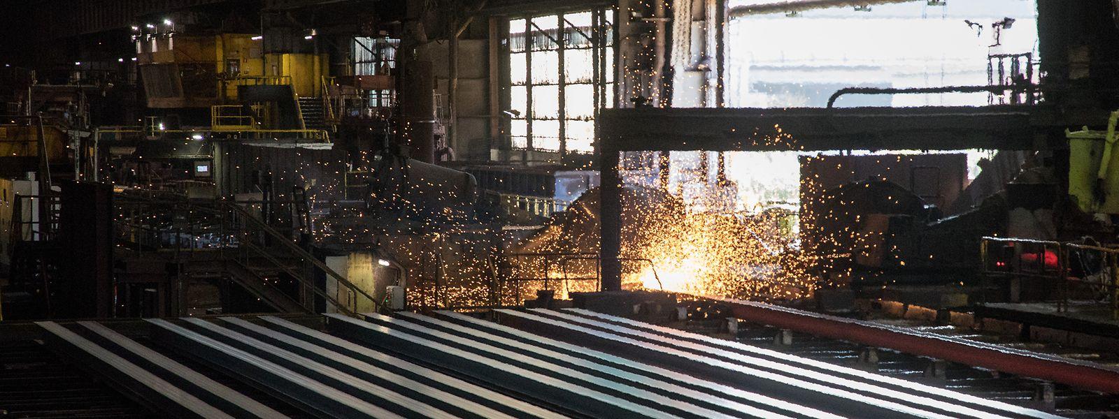 In Differdingen werden die größten und schwersten Stahlträger der Welt produziert.